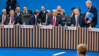 زعماء دول حلف الناتو