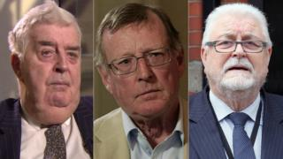 Lord Kilclooney, Lord Trimble and Lord Maginnis