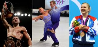 Carl Froch, Torvill and Dean, Rebecca Adlington