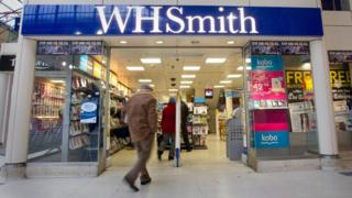 WH Smith store front
