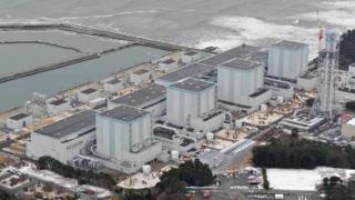 صورة لمنشأة فوكوشيما النووية في اليابان (رويترز)