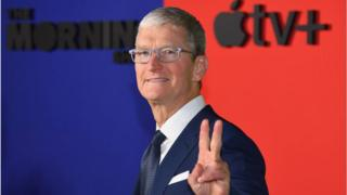 Technology Apple boss Tim Cook