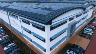 Prodrive HQ with solar panels