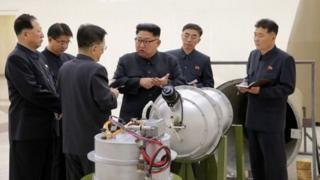 平壤当局近年发展核武器的进度增快,着力发展让它能向美国本土发射载有核弹头的导弹。