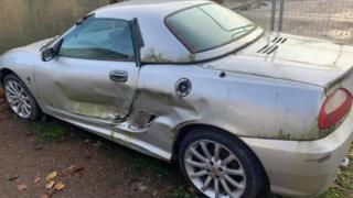 Corrie Mckeague's car
