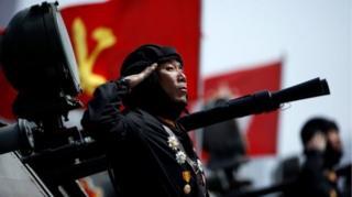 การยิงทดสอบขีปนาวุธที่ล้มเหลวมีขึ้นหนึ่งวันหลังการสวนสนามแสดงแสนยานุภาพของกองทัพเกาหลีเหนือ