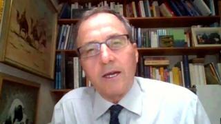 Professor Sir Ian Boyd speaking to The Coronavirus Newscast