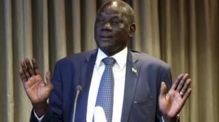 Waziri wa habari Michael Makuei