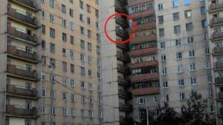 Жилой дом в Петербурге, где проводилась операция