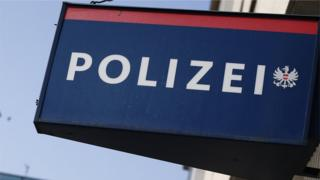 Polizei sign in Austria (file picture)