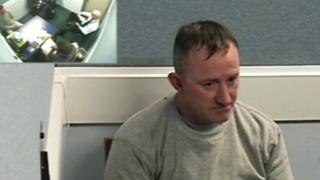 Mark Pearton in police interview