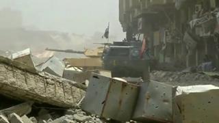 ادامه نبرد برای بازپسگیری آخرین سنگر داعش