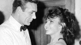 Sean Connery and Nadja Regin