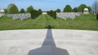Bedford House Cemetery, near Ypres, Belgium
