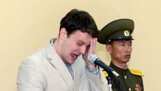 Otto Warmbier on Trial in North Korea, 16 March 2016