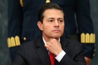 Президент Мексики Енріке Пенья Ньєто
