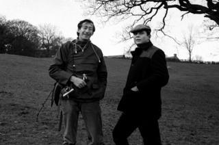 Chuck Rapoport is pictured with Jim Hicks, Life magazine's London bureau chief