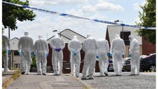 John Boreland was shot dead in Belfast in August