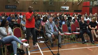 Public meeting, 21 June