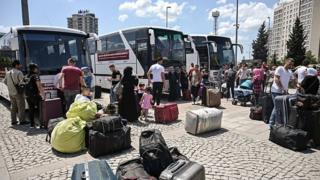 ترکیه شماری از پناهجویان سوری را بازگردانده