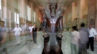 Статуя королевы Хатшепсут
