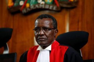 Jaji mkuu wa Kenya,David Maraga