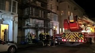 Fire crews tackling blaze at Bayswater hotel