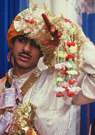Jara Singh on his wedding day