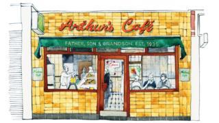 Arthur's Café, Kingsland Road, Dalston