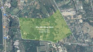Khu vực đất Đồng Sênh