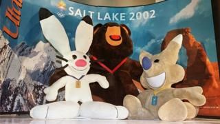 Mascots of the 2002 Olympic Winter Games