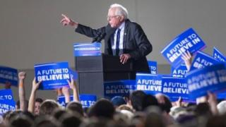 Bernie Sanders muri Wisconsin