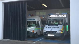 Alderney Ambulance Service station