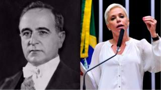 Getúlio Vargas e Cristiane Brasil