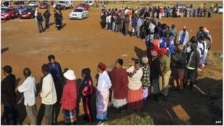 Vote en Afrique du Sud