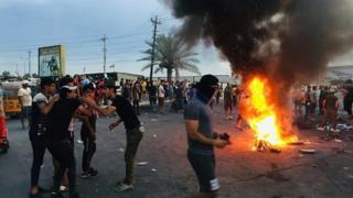 افزایش تلفات ناآرامیهای عراق به ۱۲۰ نفر