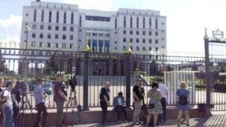Після стрілянини всіх співробітників Мособлсуду евакуювали