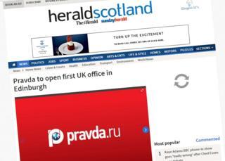 Screengrab of the Herald