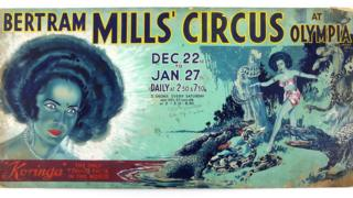 in_pictures A poster of Bertram Mills Circus