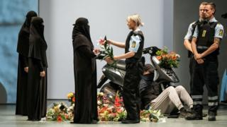Models wear burqas at Copenhagen Fashion Week