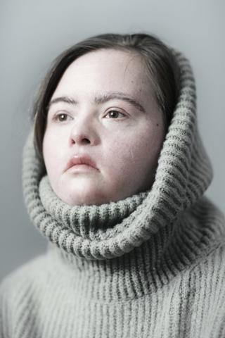 This series is part of the Radical Beauty project, an international photography project which aims to give people with Down syndrome their rightful place in the visual arts.