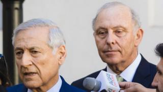 Heraldo Muñoz y Claudio Grossman