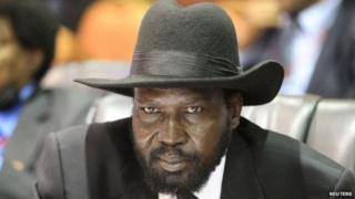 Madaxweynaha Koonfurta Sudan Salva Kiir