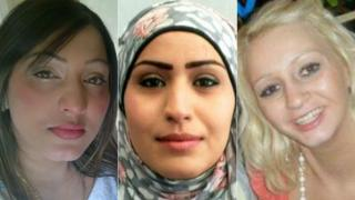 Farkhand Younis, Rania Alayed and Linzi Ashton