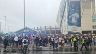 Man united news  football news  football transfer and rumours Fans at Elland Rd on Saturday