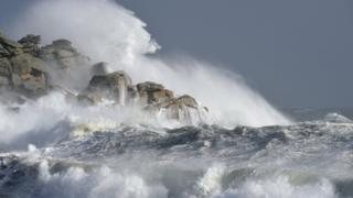 Storm off Scilly
