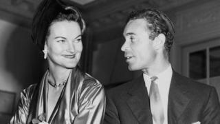 Doris Duke y Porfirio Rubirosa.