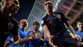 क्रोएशिया के खिलाड़ी