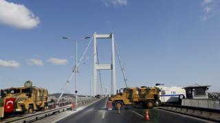 Köprü kapatıldı