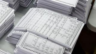 Voting systems that also use hard copies are considered far more secure - but not all states use them